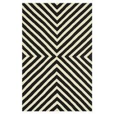 Modern Outdoor Rugs Ilda Modern Black White Graphic Outdoor Rug 3 6x5 6 Kathy Kuo Home