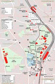 Asu Map Tokyo Map Ueno Park Zoo Metro Subway Station Tokyo National