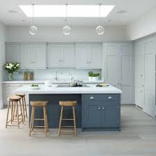 blue kitchen island cabinets 27 contrasting kitchen islands comfydwelling