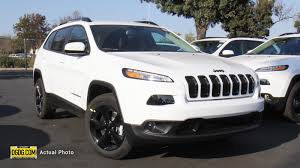 jeep cherokee white 2018 jeep cherokee overland 4x4 pictures nadaguides