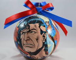 dc s superman ornament