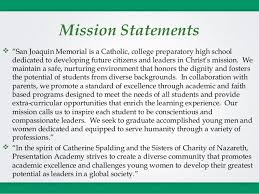 personal mission statement for high students essay short