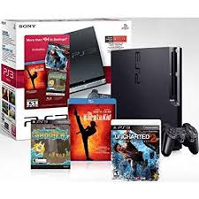 video games amazon black friday amazon com playstation 3 160 gb black friday bundle w uncharted