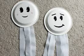 paper plate ghosts who arted