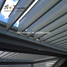Motorized Pergola Cover by Louvre Roof Louvre Roof Suppliers And Manufacturers At Alibaba Com