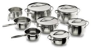 batterie cuisine inox batterie de cuisine belly en inox 8 pièces lacor ebay