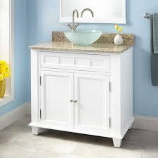 Broden Vessel Sink Vanity White Bathroom - Bathroom vanity for vessel sink 2