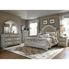 antique white traditional 6 piece king bedroom set magnolia