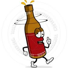 cartoon beer bottle drunk beer by cory thoman toon vectors eps 2321