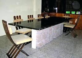 granite top dining table granite top dining table dining tables round marble dining table and