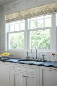 Kitchen Sink Size And Window Size by Three Windows Over Kitchen Sink Design Ideas