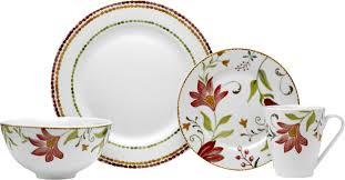thanksgiving china sets oneida italian cypress 16 piece dinnerware set service for 4