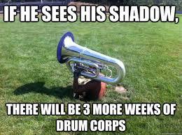 Drum Major Meme - contra groundhog memes quickmeme music is my soul marching