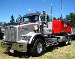 kenworth dump truck kenworth custom t800 roll off www dieseltees com trucks