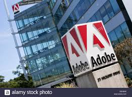 an office building occupied by adobe systems stock photo royalty