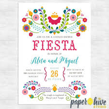 Couple S Shower Invitations Fiesta Invitation Fiesta Couples Shower Invitations Engagement