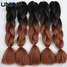 White Women Hair Extensions by Aliexpress Com Buy 24inch 100g Black White Ombre Twist Braiding
