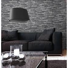 Wohnzimmer Ideen Deko Wohndesign Kleines Moderne Dekoration Stein Tapete Wohnzimmer