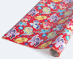 my pony wrapping paper american greetings my pony cardstock paper