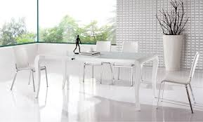 modern white gloss dining table modern white dining table extendable idolza