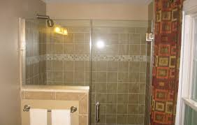 glass shower door half wall shower awesome half glass shower wall 17 best ideas about half