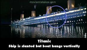 film titanic uscita titanic 3d tutti gli errori del blockbuster di james cameron il