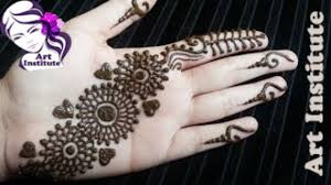 arabic indo western mehndi design simple and easy step by step for