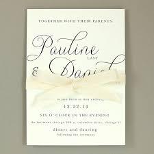 Simple Wedding Invitation Wording Pauline Suite Modern Elegant Wedding Invitation Classic Simple
