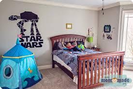 Star Wars Bedroom by Mom Made Sewing Shop Miles U0027 Star Wars Bedroom