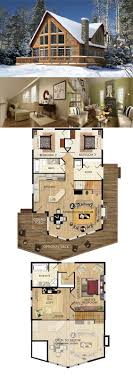 small log home plans with loft small log cabin house plans home with basement and loft tiny floor