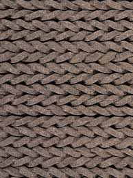 Felt Area Rugs Ligne 172 1 910 Braided Pile Knotted Felt Rug From The