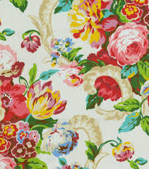 waverly upholstery fabric bloomfield spring upholstery print