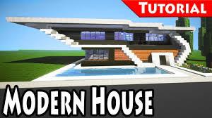 Modern House Minecraft Minecraft Easy Modern House Mansion Tutorial 6 Download
