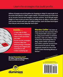 ebay for dummies marsha collier 9781119260196 amazon com books