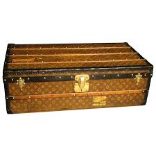 1890s louis vuitton tisse monogram steamer trunk malle louis