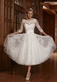 style wedding dresses zyjdress lace tea length wedding dress bridal gowns at
