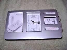 bank of america help desk bank of america perpetual desk clock calender with photo ebay