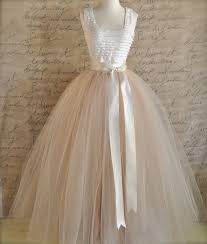 how to make tulle skirt length sewn unlined tulle skirt weddings and formal wear for
