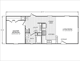 1 bedroom modular homes floor plans single wide one bedroom manufactured homes