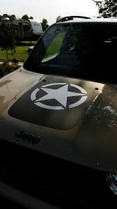 jeep army star u s army star decal jeep renegade forum