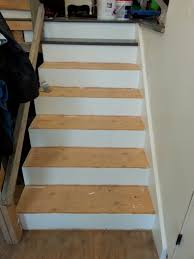 Laminate Flooring Around Stairs Week 26 Zen Stairs And Handrail With Square Spindles U2022 The