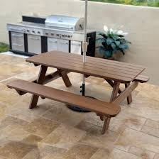 Poly Lumber Outdoor Furniture Polywood Park 72 In Picnic Table