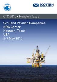 Otc Floor Crane by Scotland Pavilion At Otc 2015 Come And Meet Us