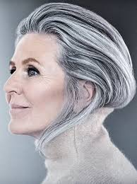 how to bring out gray in hair please dont bring back the dreaded turtlneck please but she is