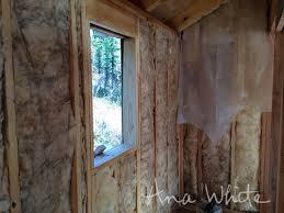 Vapor Barrier In Bathroom Wall Insulating And Vapor Barrier For Alaska Lake Cabin Ana