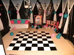 room decor fifties sock hop decorations sock hop decorations