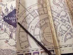 harry potter adventure map universal orlando merch harry potter marauder s map