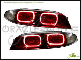 nissan zenki oracle 93 98 nissan skyline r33 gtr zenki led halo rings