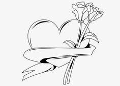 hearts roses coloring pages mother u0027s rose