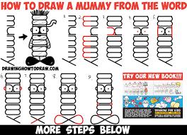 mummy halloween drawings u2013 halloween wizard